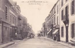 CPA  - 44 - LE POULIGUEN - La Rue Du Pont - 1063 - Le Pouliguen