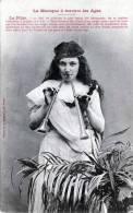 La Musique à Travers Les Ages, La Flüte, Karte Nicht Gelaufen 190?, Verlag Berberet & Co Nancy - Frauen