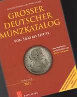 Großer Deutscher Münzkatalog 2012 Neu 35€ Deutschland Für Münzen Numis-Briefe Numisblatt New Coins Catalogue Of Germany - Tematica