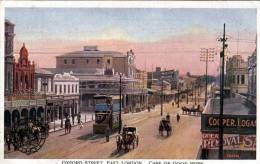 Südafrika, Oxford Street, East London, Cape Of Good Hope, Karte Nicht Gelaufen 191?, Verlag The Cape Coverment Railways - Ansichtskarten