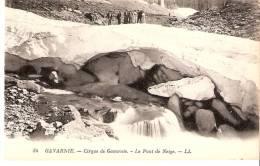 Gavarnie (65- Hautes-Pyrénées)-Le Cirque- Le Pont De Neige-animée - Gavarnie