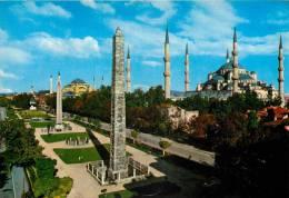 Blue Mosque, Istanbul, Turkey Postcard - Turquia