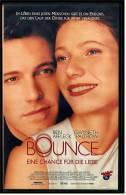 VHS Video  , Bounce - Eine Chance Für Die Liebe   -   Gwyneth Paltrow , Ben Affleck , Tony Goldwyn , Alex D. Linz - Romantic