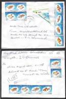 Fishes, Flowers, Postal History Cover From PAKISTAN Local Used 2012 - Fishes