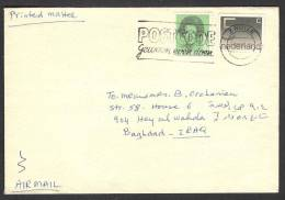 POSTCODE Slogan In Cancellation, Postal Used Cover From NETHERLANDS 1984 - Period 1980-... (Beatrix)