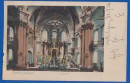 Deutschland; Staffelstein; Vierzehnheiligen; Inneres; 1910 - Staffelstein