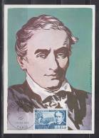= Carte Postale Premier Jour Paris 14 Fev 70 N°1624  Prosper Mérimée Ecrivain 1803-1870 - Maximumkarten