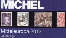 Part 1 Stamp Europa Catalog MICHEL 2013 New 60€ Mitteleuropa Österreich Schweiz UNO CZ CSR Ungarn Liechtenstein Slowakei - Unclassified