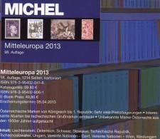 MICHEL Part 1 Stamp Europa Catalog 2013 New 60€ Mitteleuropa Österreich Schweiz UNO CZ CSR Ungarn Liechtenstein Slowakei - Czech Republic