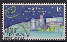 1999 Luxemburg   Mi. 1470 Used    Conseile De L`Europe - Europese Gedachte