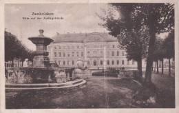Cp , ALLEMAGNE , ZWEIBRÜCKEN , Blick Auf Das Justizgebäude - Zweibruecken