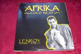 LENROY FEAT VICTOR DJ °  AFRIKA COCO BEAT - 45 T - Maxi-Single