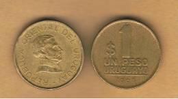 URUGUAY -  1   Peso 1994  KM103 - Uruguay