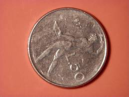50 Lira 1977 - 1946-… : República
