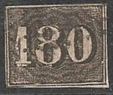 BRASIL 1850/66 - Yvert #16 - VFU - Brasil