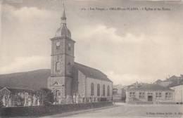 88 - CELLES SUR PLAINE - L'Eglise Et Les Ecoles - Non Classés