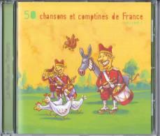 50 French Children Songs / Nursery Rhymes  Vol 1 - Enfants