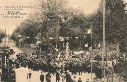 Cpa17 St Porchaire Inauguration Monument Aux Morts - Francia