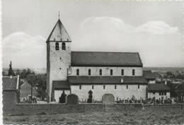 Bertem :  Romaanse Kerk  (  Groot Formaat  )  ** Kaart Was Ingeplakt , Verso Beschadigd - Bertem
