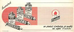 Buvard Réf.057. Flambo - Produits D'entretien, Cordon Bleu, Mecano, Furnex - Wash & Clean