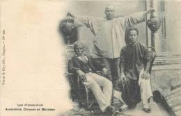 Réf : C -13-0218  :  Annamite, Chinois, Et Malabar - Chine