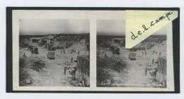 Photo Stéréo GUERRE 1914 / 1918 WAR WW1  AISNE 1918 Positions Boches Dans Les Carrières MARTINET (réf8) - Stereoscoop