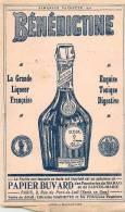Buvard Réf.075. Bénédictine - La Grande Liqueur Française - Liquor & Beer