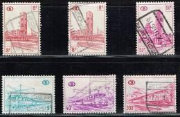 """""""ZOLDER"""" SP344-351-386-390-397 - Gest/obl - 6 Zegels/timbres - Zie/voir Scan - 1952-...."""