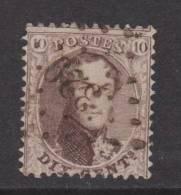 Nr. 14  Lp. 329  St. TROND - 1863-1864 Médaillons (13/16)