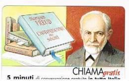 CHIAMAGRATIS - 120 PERSONAGGI PER IL PROGRESSO DELL' UMANITA'(100):  SIGMUND FREUD          - NUOVA  (RIF.CP) - Italy