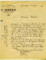 VENDEE - CHAMPAGNE LES MARAIS -  G.SERMONI.  Vins Et Spiritueux . A4 - Agriculture