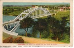 43. Bas En Basset. Le Nouveau Pont Et Le Village De  Gourdon - Other Municipalities