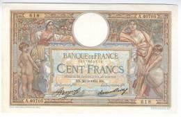 FRANCE , 100 FRANCS 1933  MERSON   PAPER MONEY - BANKNOTES - 100 F 1908-1939 ''Luc Olivier Merson''