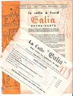 """""""GALIA"""" Colle à Froid - Publicités"""