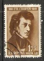 Romania 1960  Fredric Chopin  (o) - 1948-.... Republics
