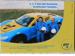 Automobile - CPM : Voiture Buggy Joineau - Boyon 25 ème Rallye Du Dakar - Publicité GAN - Rally