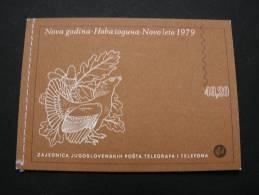 == Jugpslawien Booklet  Nr. 1  ** MNH  Birds. 1979 - Ohne Zuordnung