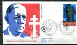 FDC16/6/77 : Hommage Au Général De Gaulle