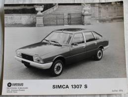 Automobile - Photo  De La Voiture : SIMCA 1307 - S - - Automobilismo - F1