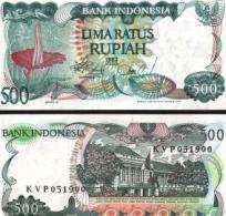 Indonesia #121, 500 Rupiah, 1982, UNC - Indonesien