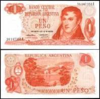 Argentina #293, 1 Peso, ND (1974), UNC / NEUF - Argentinien