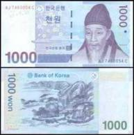Korea (South) #54, 1.000 Won, 2007, UNC - Korea (Süd-)