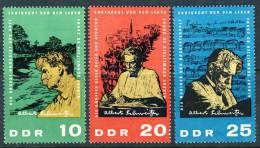 "1965 GDR Complete MNH (**) Set Of 3 Stamps "" 90th Birthday Of Albert Schweitzer   "" Michel 1084-86 - [6] Democratic Republic"