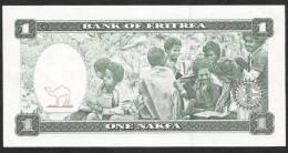 ERITREA   P1    1  NAKFA    1997    UNC. - Erythrée