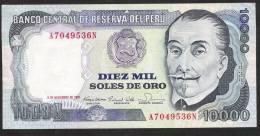 PERU   P124   10.000 SOLES DE ORO  5.11.1981    XF - Pérou