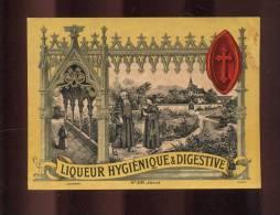 Etiquette De Liqueur  Hygiénique Et Digestive - Etichette