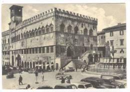 Perugia, Italy, PU-1957  Piazza IV Novembre - Perugia