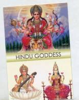 Carte Inde Dieu - India