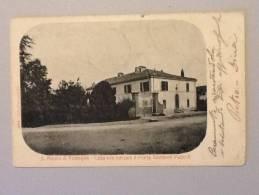 CARTOLINA S.MAURO DI ROMAGNA (Casa Dove è Nato Il Poeta Giovanni Pascoli) VIAGGIATA DEL 1907 BUONO STATO - Italien