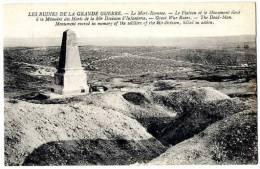 55 LE MORT HOMME LE PLATEAU ET LE MONUMENT ELEVE A LA MEMOIRE DES MORTS DE LA 40E DIVISION D INFANTERIE - Otros Municipios